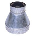 Duct pipe reducer