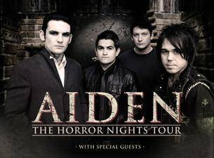 "Tickets to the Aiden ""Horror Nights"""