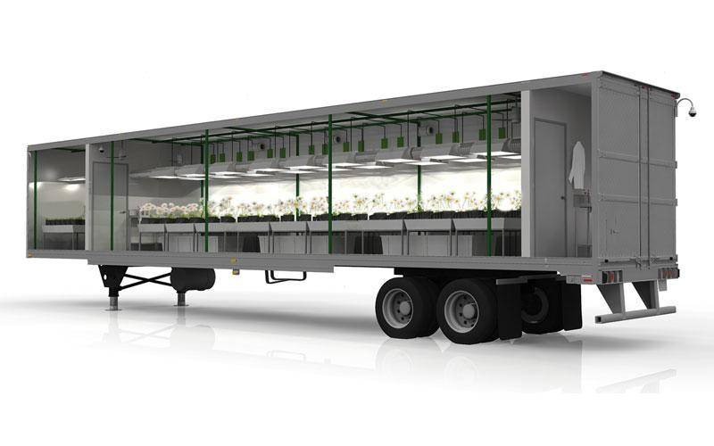 GrowBot offers four different pre-built, ultra-modern hydroponics grow rooms, including three that are on wheels!