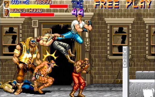 Flying kicks and piiledrivers made Final Fight fun