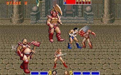 Fantastic violence in Golden Axe