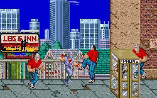 The arcade version of Ninja Gaiden was much different from the home version
