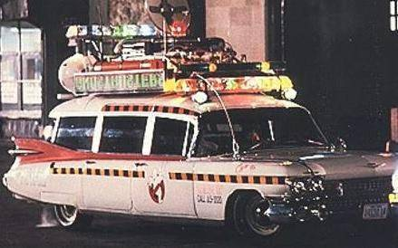 The Ecto-1 meets all your ghostbusting needs