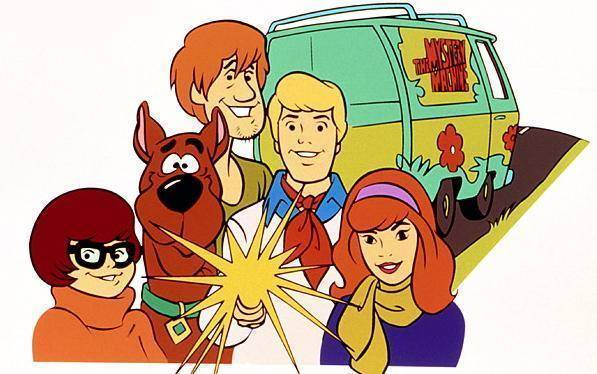 The Scooby-Doo gang practically lived in the Myserty Machine