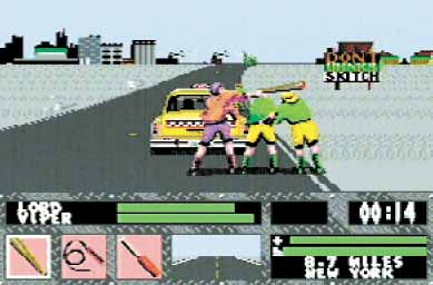 Skitchin' was an exciting, if fictional, sport to turn into a video game.