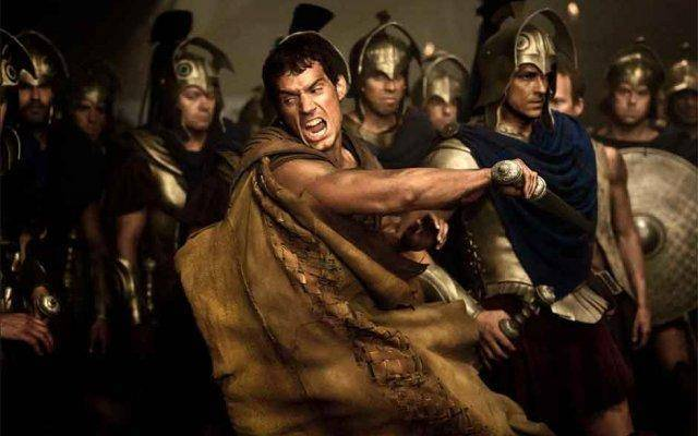 Henry Cavill stars in Immortals, the latest swords and sandals epic.
