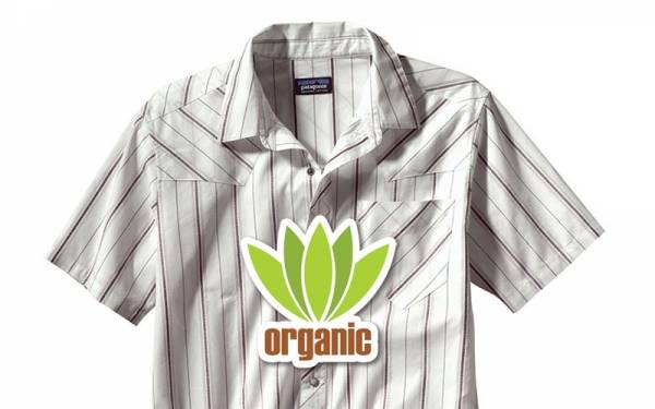 Organic clothing is fashionable and good for the environment.