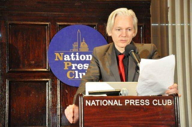 Julian Assange: Definitely more useful than Fox News!