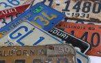 Collectible license plates: better than collecting stamps?
