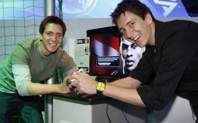 Twin brother James and Oliver Phelps are really into gaming