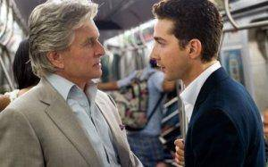 Michael Douglas shows Shia LaBeouf the roeps in Wall Street: Money Never Sleeps
