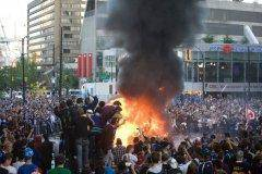 Vancouver set itself ablaze following the Stanley Cup Finals.