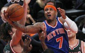 Carmelo Anthony gets his wish, playing in New York and raising his profile.