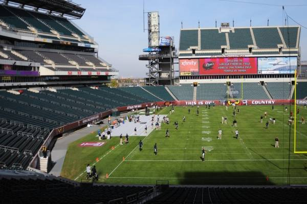 The Philadelphia Eagles play in the most eco-friendly stadium in North America, maybe the world.