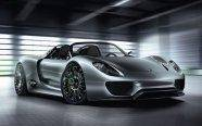 The Porsche 918 Spyder is a mid-engined concept sports car designed by Porsche