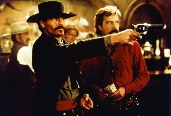Michael Biehn in the film Tombstone, playing one of his most badass roles.