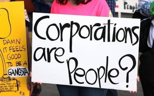 Mitt Romney says corporations are people.