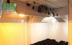 With a grow tent, you won't have to worry about expensive renovations to your grow room when you move.