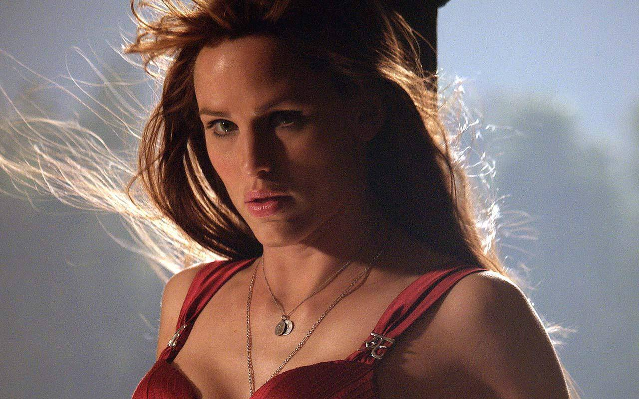 Jennifer Garner looked great, but was still a hard sell as an assassin