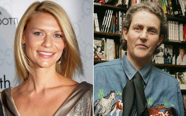 Claire Danes and Temple Grandin seem worlds apart, but find themselves sharing the spotlight lately