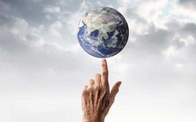 The fate of the earth in our hands.