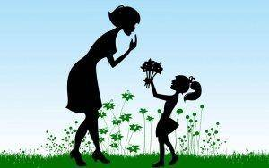 Hydroponics, moms & flowers go together well!