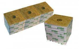 Grodan hydroponics rockwool offers more variety than coco coir
