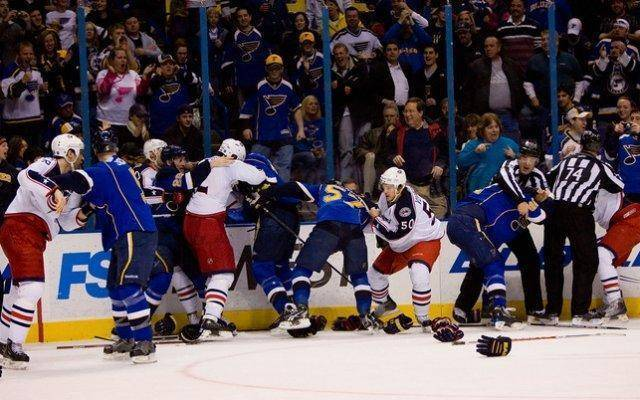 Hockey produces the most frequent brawls, but other sports have had their share too.