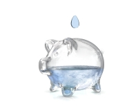 Saving water means saving money and saving the environment.